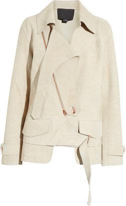 Alexander Wang Deconstructed suede jacket
