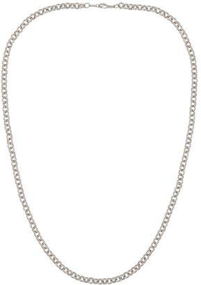 Susan Caplan Vintage 1990s Vintage Silver Plated Curb Chain