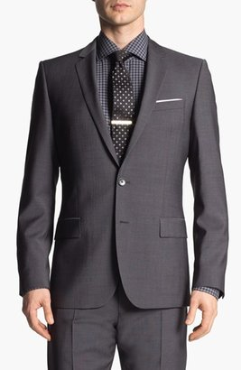 HUGO 'Amaro/Heise' Trim Fit Wool Suit (Online Only)