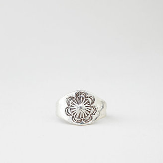 Steven Alan BAILEY HUNTER ROBINSON silver flower ring