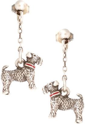 Cath Kidston Antique Silver Stanley Drop Earrings
