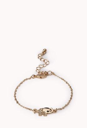 Forever 21 Sweet Elephant Charm Bracelet
