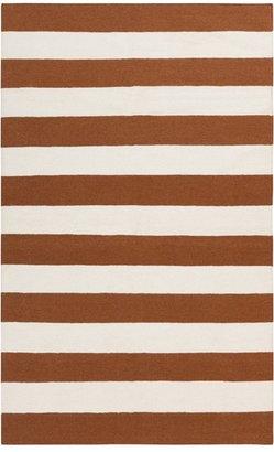 DwellStudio Draper Stripe Sepia Rug