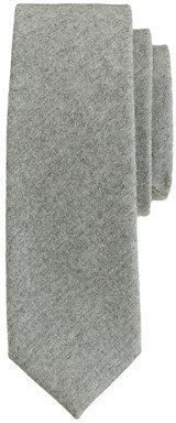 J.Crew Italian wool tie in medium grey