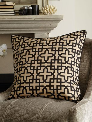 Sheridan Kosler balm square pillowcase, bold geometric pat