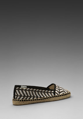 Soludos Raffia Low Cut