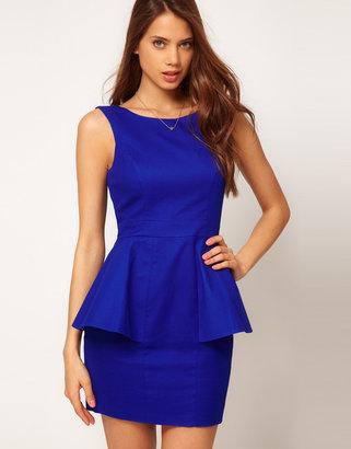 Lipsy Peplum Dress