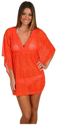 Athena Isle Of Capri Tunic (Poppy) - Apparel