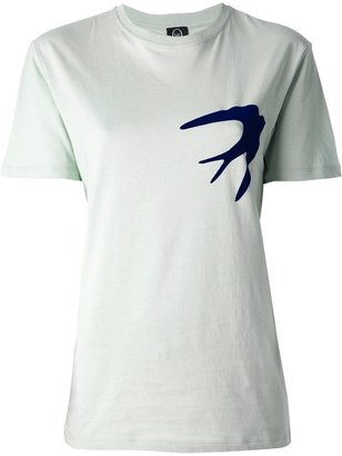 McQ by Alexander McQueen swallow motif T-shirt