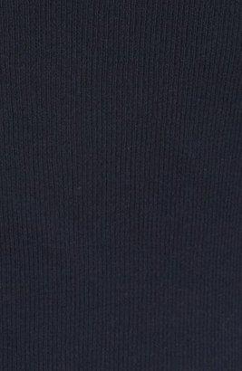 James Perse Skinny Long Sleeve Cotton & Cashmere Crewneck Top