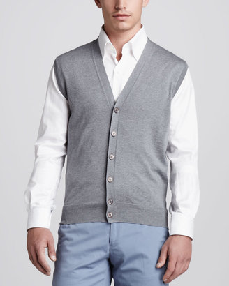 Ermenegildo Zegna Wool/Cashmere Sweater Vest
