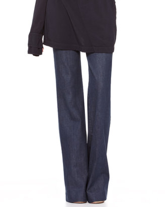 Donna Karan Flared Trouser Jeans