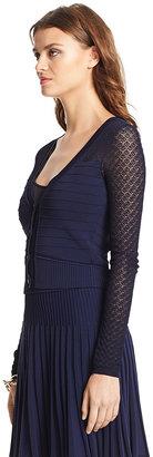 Diane von Furstenberg Aurelie Knit Cardigan