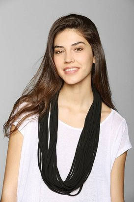 Urban Outfitters Shredded Necklace Eternity Scarf