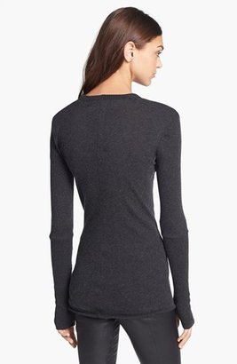 Enza Costa Cotton & Cashmere Jersey Sweater
