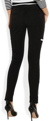 MICHAEL Michael Kors Stretch-cotton twill skinny cargo pants