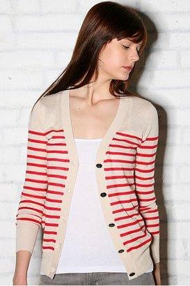 Lux Striped Sailor Cardigan