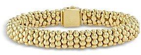 Lagos Caviar Gold Collection 18K Gold Beaded Bracelet