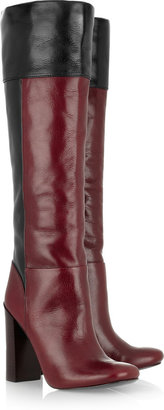 Tory Burch Alicia color-block leather boots