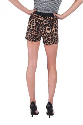 Monroe OTIS & MACLAIN Leopard Printed Shorts