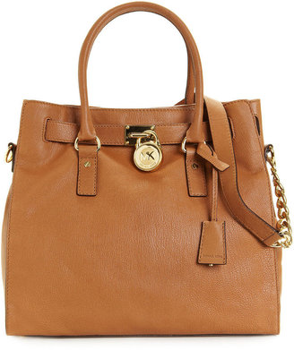 MICHAEL Michael Kors Hamilton Tote with Gold Hardware