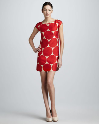 Kate Spade Maya Dot-Print Shift Dress