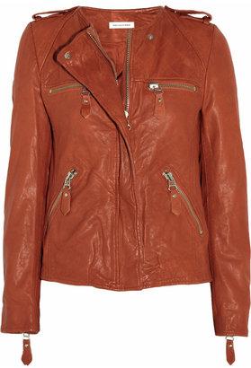 Etoile Isabel Marant Kady washed-leather biker jacket
