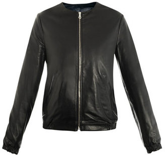 J.W.Anderson Reversible collarless leather jacket