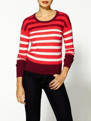 Marc by Marc Jacobs Yasmin Stripe Pullover Sweater