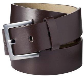 Merona Square Buckle Belt - Brown