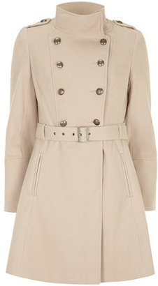 Dorothy Perkins Camel military twill trench