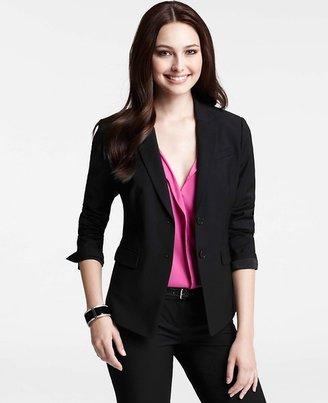 Ann Taylor Petite Tropical Wool Rosemonde Jacket