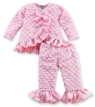 Mud Pie Baby-girls Infant Minky Kimono Set