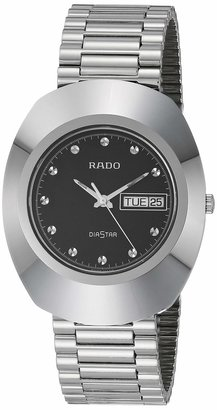 Rado DiaStar Original Quartz Watch with Stainless Steel Strap Silver 21 (Model: R12391153)