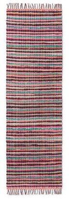Threshold Multicolor Stripe Chindi Woven Runner - (2'X7')