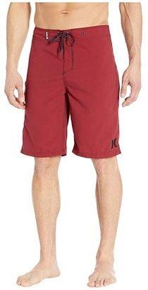 Hurley One Only Boardshort 22 (Black/Wolf Grey) Men's Swimwear