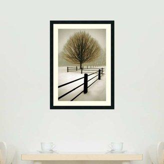 "Amanti art ""Solitude"" Framed Wall Art"