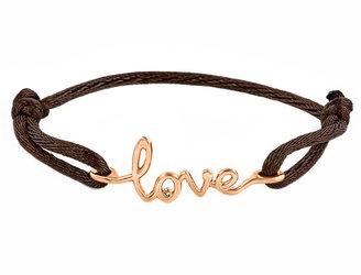 Avanessi One Love Brown Cord Bracelet