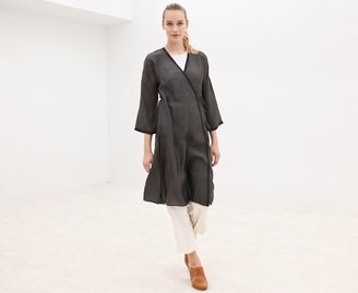 Dosa Silk Wrap Dress