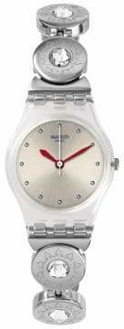 Swatch Analog Stainless Steel Bracelet Watch