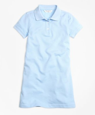 Brooks Brothers Girls Short-Sleeve Polo Dress