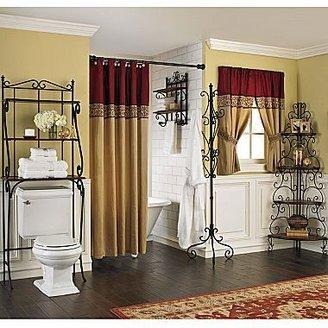 JCPenney Bath Furniture, Mahogany Parisienne