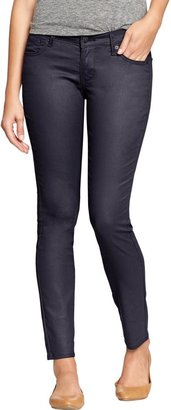 Old Navy Women's The Rockstar Coated-Wash Super Skinny Jeans