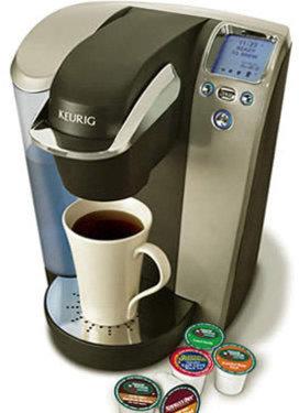 Keurig Platinum Single Cup Home Coffee Brewer, Black/Chrome