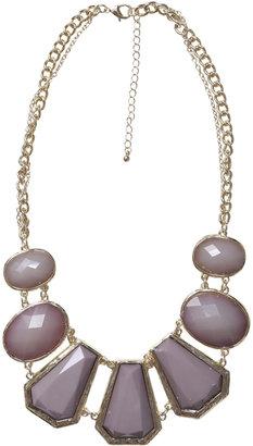 Arden B Tonal Stone Drop Necklace