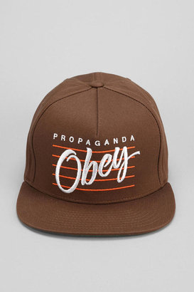 Urban Outfitters OBEY Sidelines Snapback Hat