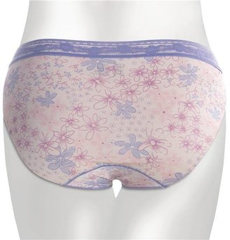 TC Intimates Edge Lace-Trim Underwear - Hi-Cut Briefs (For Women)