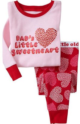 """Old Navy """"Dad's Little Sweetheart"""" PJ Sets for Baby"""