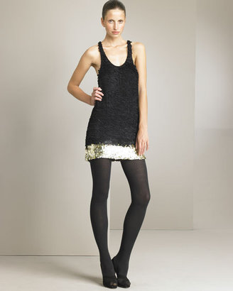 3.1 Phillip Lim Sequined Tank Dress