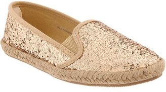 Old Navy Girls Glitter Espadrille Flats